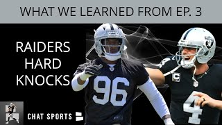 HBO Hard Knocks 2019 - Here's 5 Things We Learned From The Oakland Raiders In Episode 3