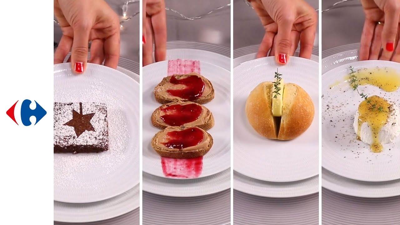 Realisez Une Decoration Assiette Festive Pour Votre Repas De Fete