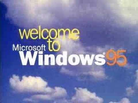 Microsoft Windows 95 Welcome #3