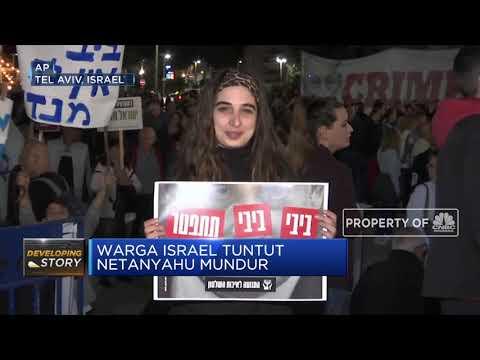 Warga Israel Tuntut Mundur Perdana Menteri