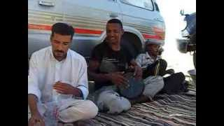 Bedouin music in the desert of Egypt.