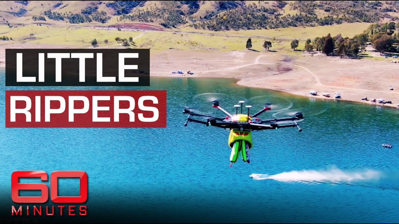 Search and rescue drones are eyes in the sky | 60 Minutes Australia