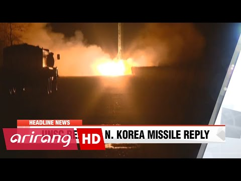 NEWSCENTER 22:00 Seoul's Defense Ministry says Pyongyang will continue to test fire missiles