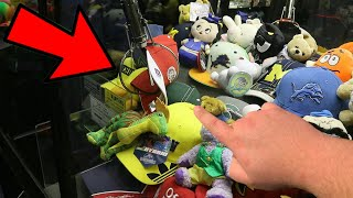 YOU HAVE NEVER SEEN A CLAW MACHINE WIN LIKE THIS!!! (NEVER DONE BEFORE) | ClawBoss