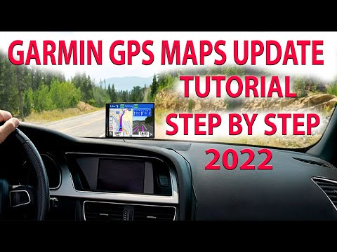 Garmin Map Updates GPS 2018