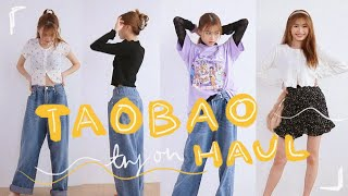 TAOBAO Try-on Haul How To Style 🧡