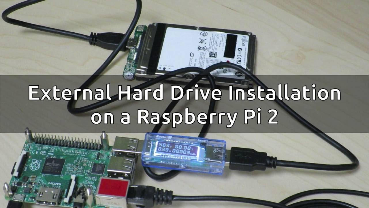 Raspberry Pi 2 External Hard Drive Installation Part 1