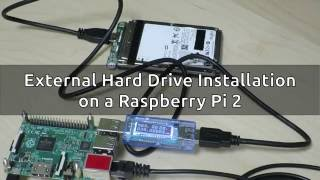 Raspberry Pi 2 External Hard Drive Installation: Part 1 - SATA-to-USB Converter FAIL!