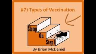 Types of Vaccination, Toxoid Sabin MMR DPT Conjugated Killed Attenuated vaccine salk rabies