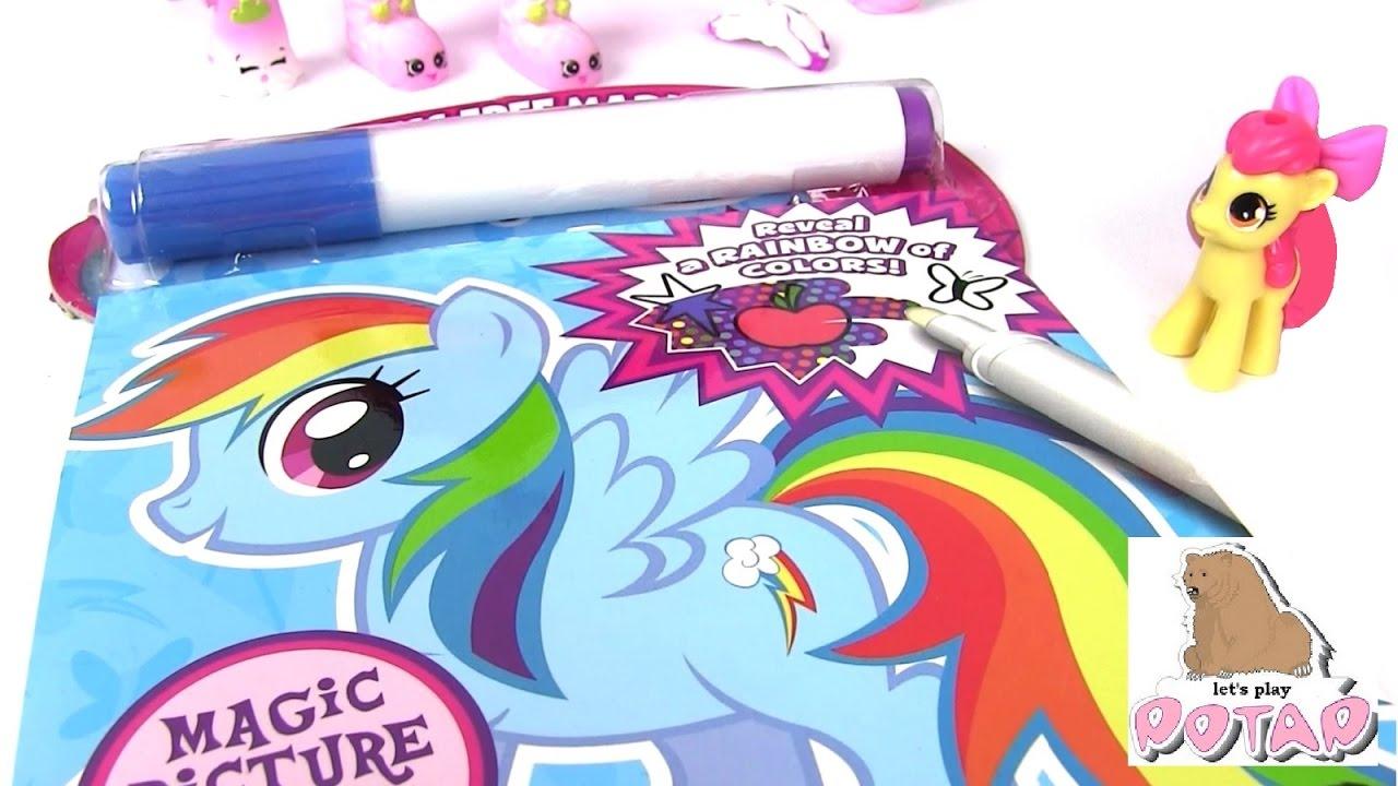 Май Литл Пони Мультик! ВОЛШЕБНЫЙ МАРКЕР! My Little Pony ...