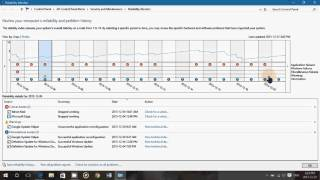 Windows 10 tips and tricks Reliability Monitor what it is and how to use it