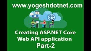 ASP NET WEB API Core 2 0 CRUD   Part-2   Hindi