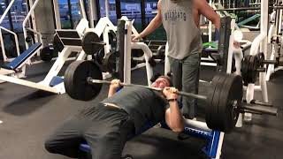 Bench Pressing 315 For 10 Reps