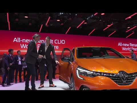 Renault Presented The Clio 5 At The 2019 Geneva International Motor Show