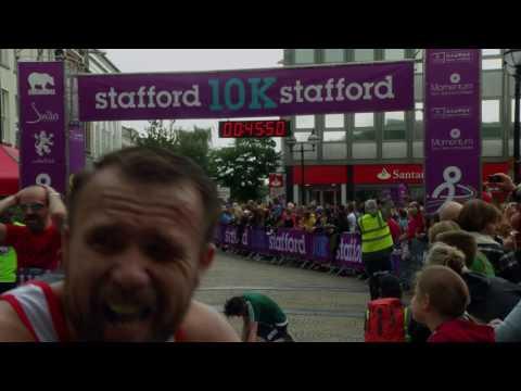 Stafford 10K  Finish Cam