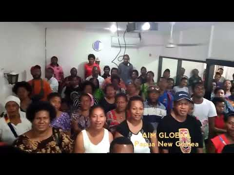 Video Proof: A Lot Of People from Papua New Guinea Joining AIM GLOBAL