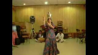 Chari Dance Workshop with Senu Sapera @ Kalbeliya Dance Tour to Rajasthan, India 2012