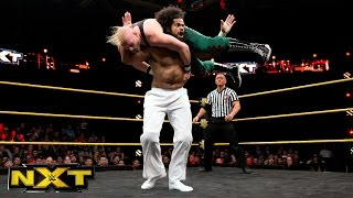 No Way Jose vs. Alexander Wolfe:  WWE NXT, April 20, 2016