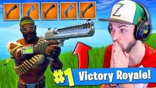 WINNING using *ONLY* LEGENDARY PISTOLS in Fortnite: Battle Royale!