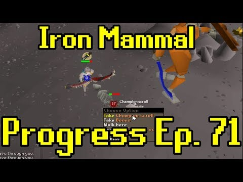 Oldschool Runescape - 2007 Iron Man Progress Ep. 71 | Iron M