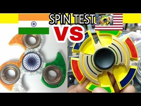 Made In India FIDGET SPINNER VS IronMan With Batman FIDGET SPINNER | SPIN TEST | By Tech India Tips