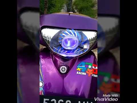 Modifikasi Motor Mio Warna Ungu Blog Motor Keren