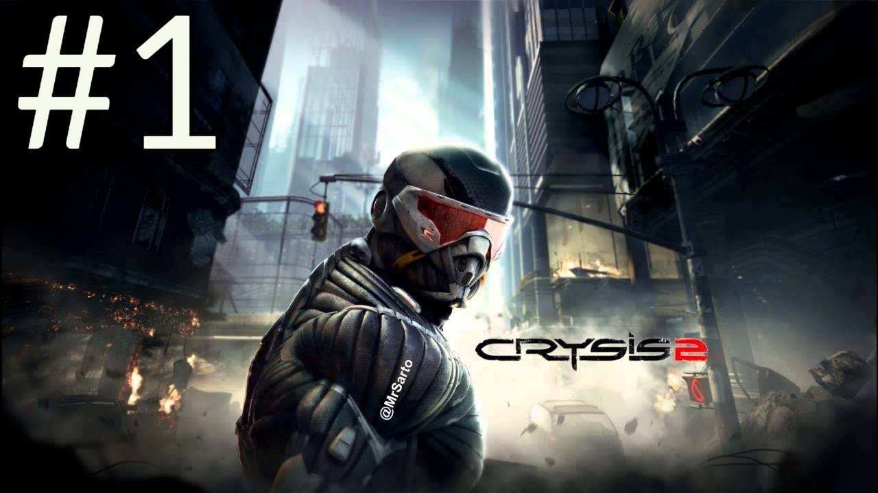 Crysis 2 Maximum Edition Walkthrough Part 1 [1080p HD]- No Commentary