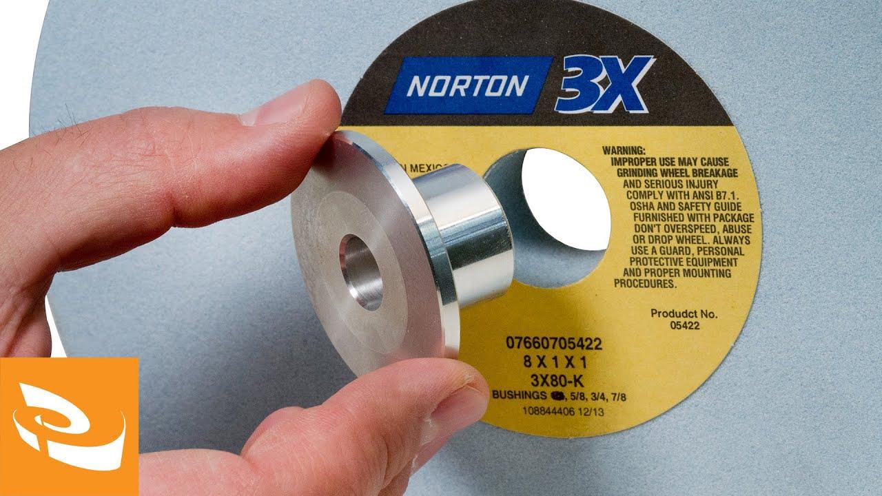 Raptor R3x Grinding Wheel Bushings Norton 3x Run Out