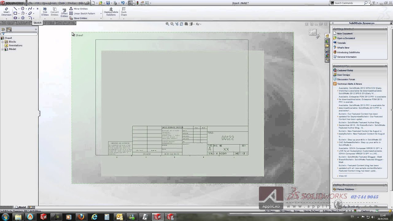 beautiful solidworks drawing template download gallery examples