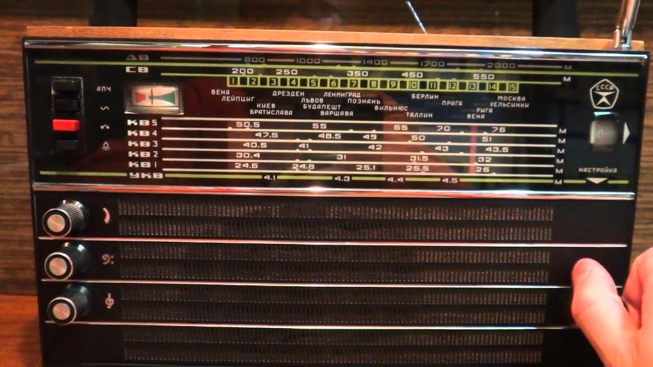 Радиоприёмник Океан-214. !!! - YouTube