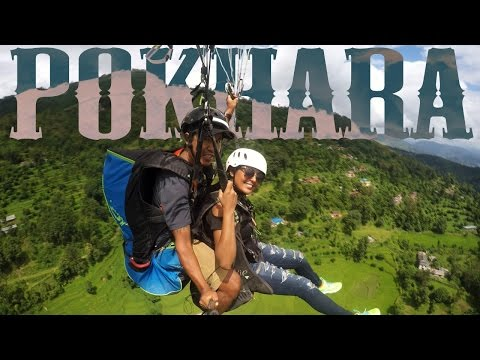 Top 5 Things to do in Pokhara : Nepal Travel Guide : MrJovitaGeorge Paragliding