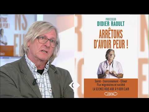 Didier Raoult, son livre choc - C à vous - 02/05/2016