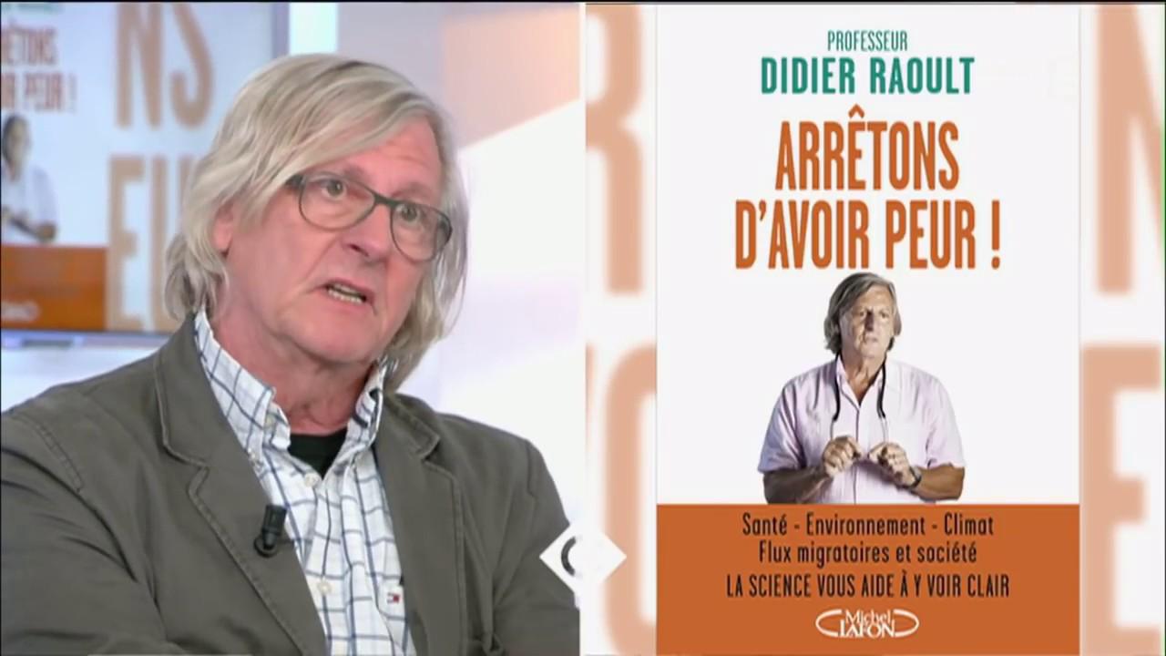 Professeur Didier Raoult, son livre choc - C à vous - 02 ...