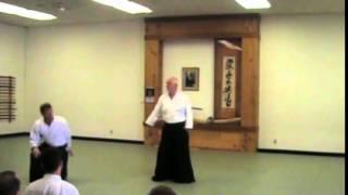 Cognard André Shihan - Kaeshi waza - Aikido Kobayashi seminar in the US