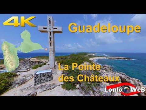 Guadeloupe 4K - La pointe des Châteaux (Insta360 One X et GoPro Hero 8 Black)