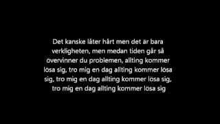 Repeat youtube video Dani M - Sånt e livet (Lyrics)