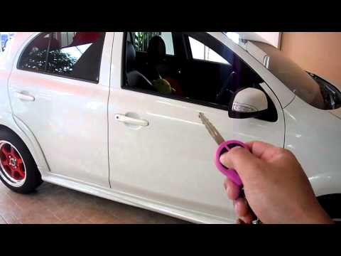 Nissan March Push start and remote start from OEM key