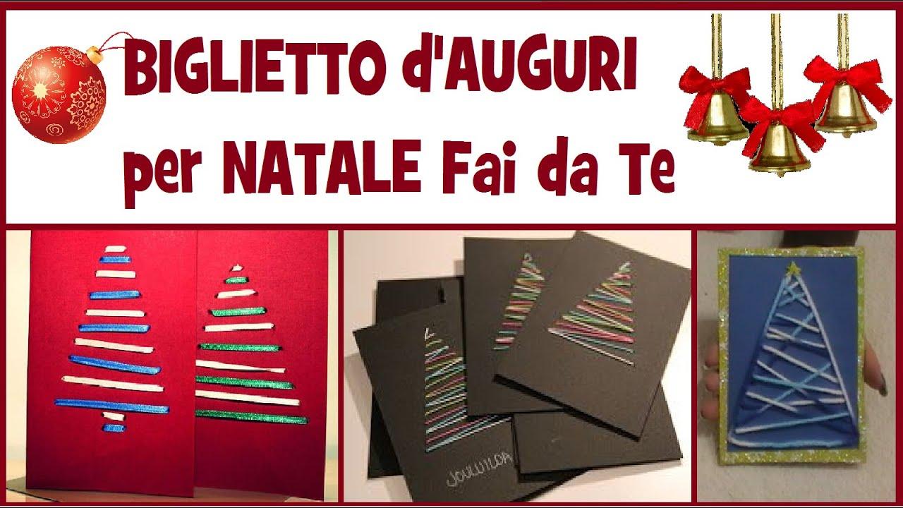 Famoso Biglietto d'Auguri per Natale Fai da Te - DIY CHRISTMAS GREETINGS  RF39