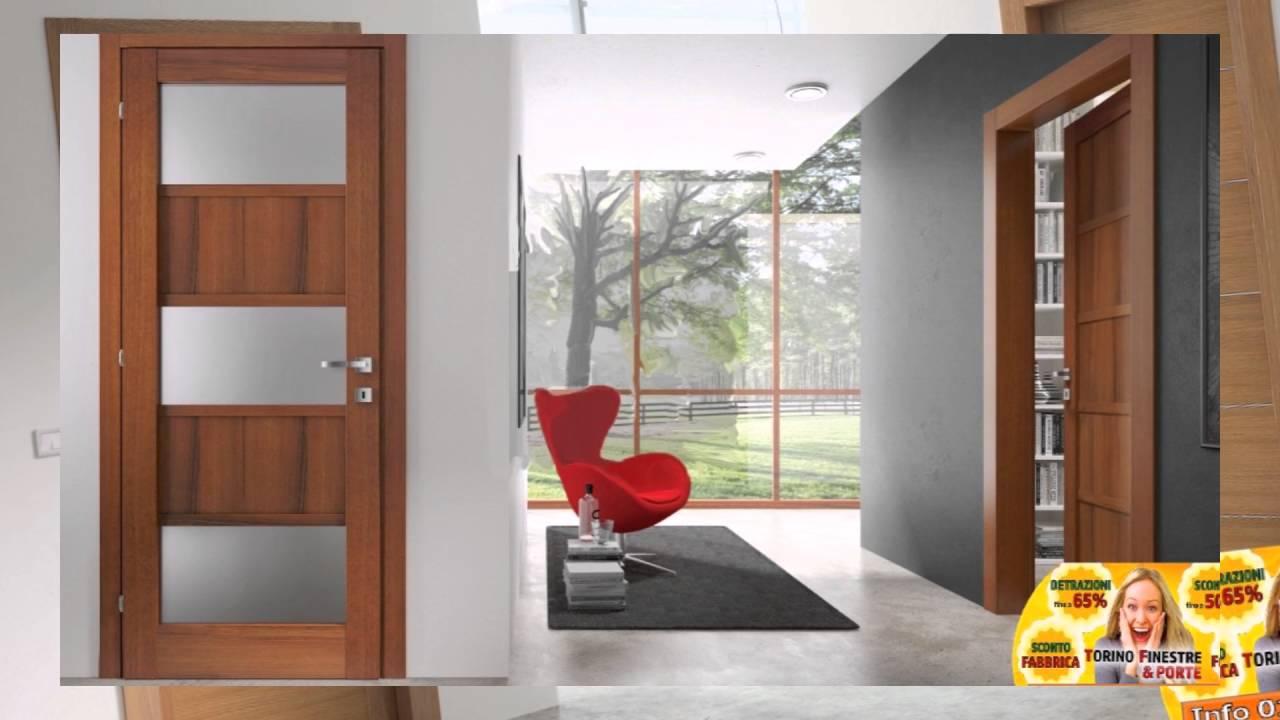 Porte interne torino catalogo offerte prezzi fabbrica youtube - Prezzi porte interne ...