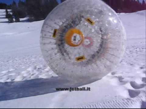 Jetball Zorb Estremo Grappa 21 Marzo 2009
