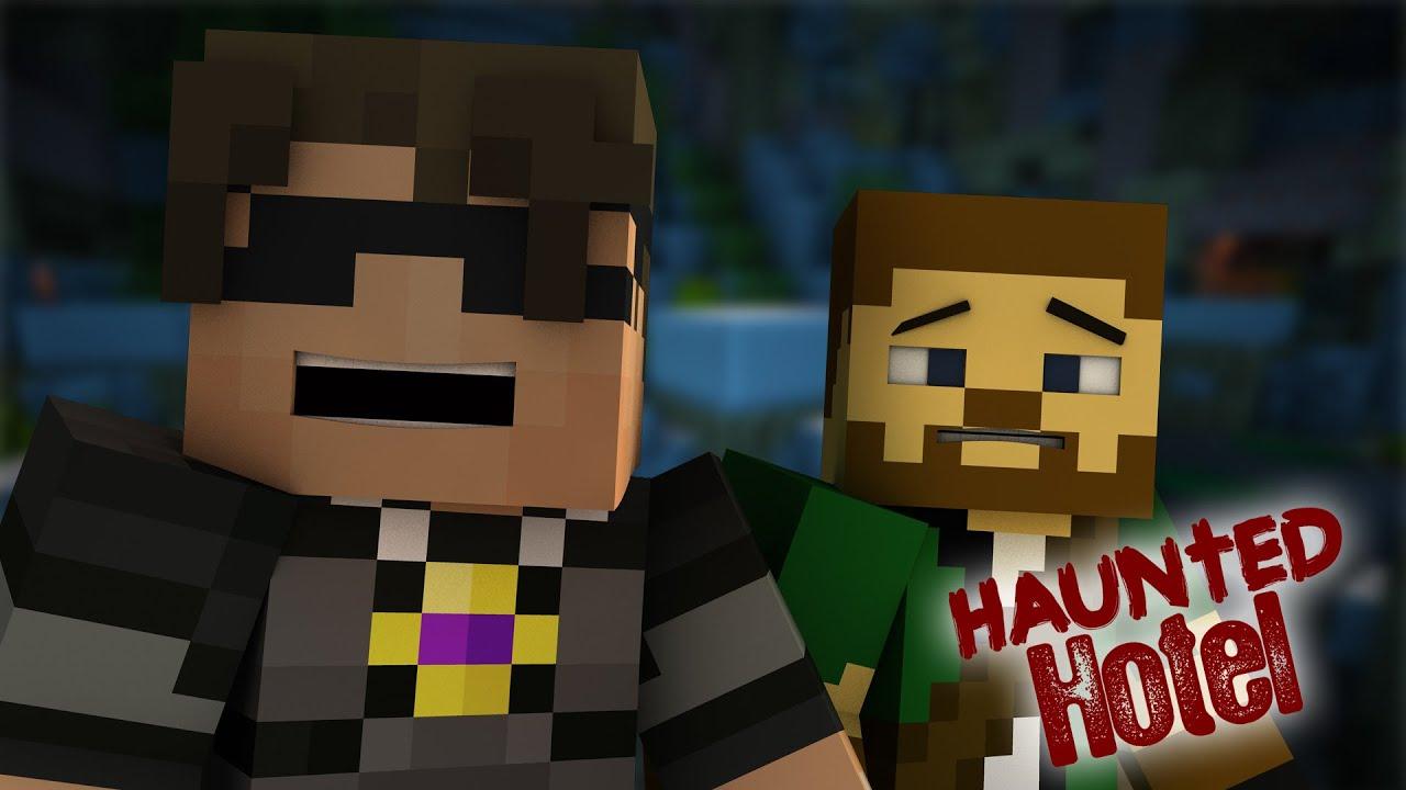 Haunted Hotel Saving Sky Minecraft Roleplay