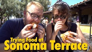 Trying Food at Sonoma Terrace | Disney California Adventure
