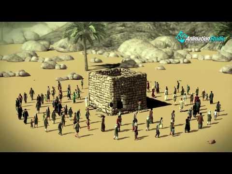 """""""قصة بناء الكعبة"""" سيدنا أبراهيم و سيدنا أسماعيل عليهما السلام"""