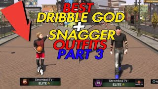 BEST DRIBBLE GOD AND SNAGGER OUTFITS😱 FEBRUARY EDITION😱 NBA2K19