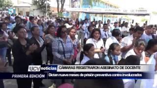 CÁMARAS MUESTRAN TERRIBLE ASESINATO DE DOCENTE-UCV NOTICIAS PIURA