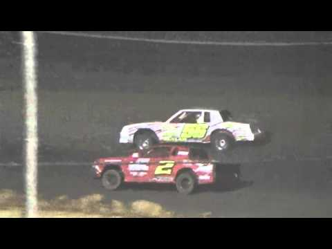 Ark La Tex Speedway Cajun Classic factory stock A feature part 1 2015