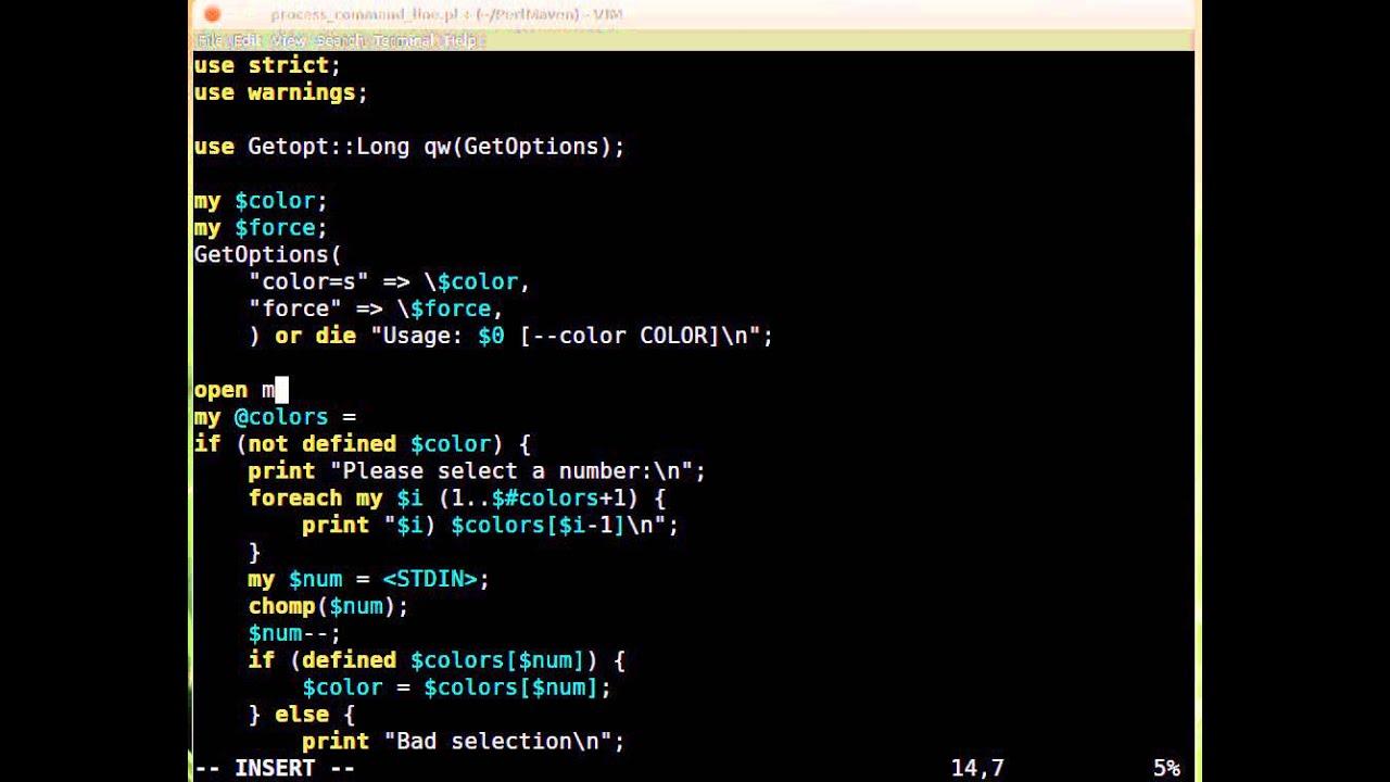 Beginner Perl Maven Tutorial 424