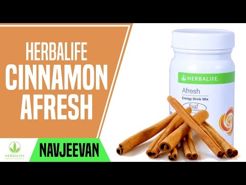 Herbalife Afresh Energy Drink Mix Cinnamon Navjeevan India Hyderabad