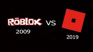 ROBLOX 2009 - ROBLOX 2019