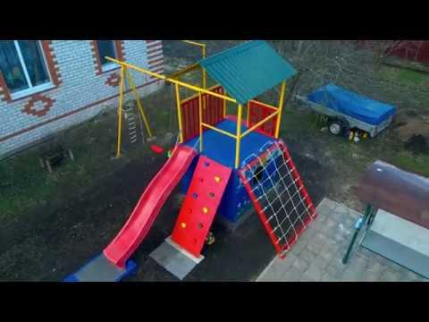 Детская площадка от и до своими руками